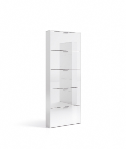 Zappa Shoe Cabinet White Gloss - 2589